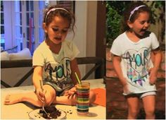 Kyle Richard's Daughter, Portia in Junk Food Kids on an episode of Real Housewives of Beverly Hills