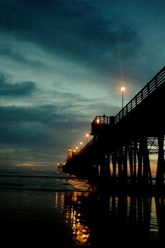 Miss my frequent trips across country to Oceanside, Cali :( But I guess having my bf home is nice.. Sometimes.