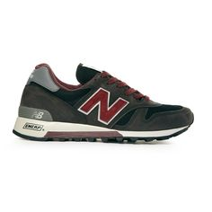New Balance, 'The' trainers to have, suit or jeans they go with anything and people know you've been there & done it.