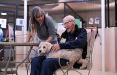 100-year-old man comes to Best Friends to celebrate birthday and lend a hand.
