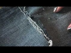 How to make holes in your jeans