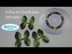 Centro de Mesa de Crochê Floral - Vídeo Aula 03 - YouTube