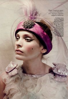 Paolo Roversi for Vogue Russia May 2010
