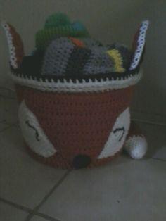 Foxy Basket for baby stuff