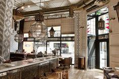 Tile Work - Ibérica Marylebone, London. Restaurant Interior Design