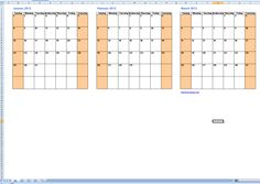 3 Month Blank Calendar Template New Three Month Calendar Template Blank Calendar 2015 Calendar Printable, Weekly Calendar Template, Calendar Notes, Free Calendars To Print, Print Calendar, Sign In Sheet Template, Planning Calendar, Calendar Ideas, Templates