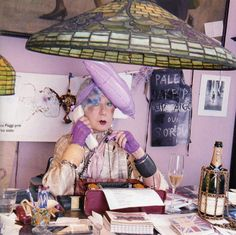 Anna Piaggi | Uma das mais marcantes jornalistas de moda