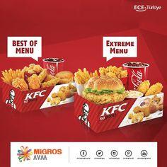#KFC'nin efsane menüleriyle kendinizi şımartmaya ne dersiniz? KFC, #AntalyaMigrosAVM 1. katta.