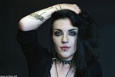 Kayleigh from KIEF Modils Halloween Face Makeup, Photography, Photograph, Fotografie, Photo Shoot, Fotografia, Photoshoot