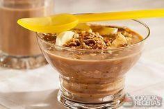 Receita de Cappuccino com cereal em receitas de doces e sobremesas, veja essa e outras receitas aqui!