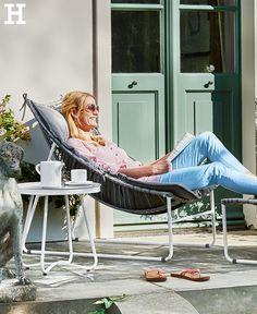 mit schwung durch den sommertag garten liege sonnen schaukel garten balkon pinterest. Black Bedroom Furniture Sets. Home Design Ideas