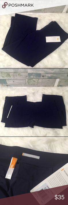 """Navy Lucy Walkabout Pants NWT Navy Lucy walkabout pants. Size Large, 38"""" Waist, 10"""" Front rise, 29.5"""" Inseam. Material is 95% Nylon and 5% spandex. Comfortable, lightweight. Zipper and button in front and zip pockets on the back. Stock photo is not of this color, but just a reference for fit.                                 🚭Smoke Free Home🚭 ✅Offers Welcome on All Purchases ✅Ships Every Friday  📏Measurements Taken Flat ❌Off-Posh Transactions ❌Trade Lucy Pants Track Pants & Joggers"""