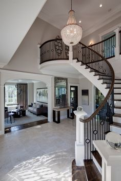 2 Story Entry Way, New Home, Interior Design, Open Floor Plan ...
