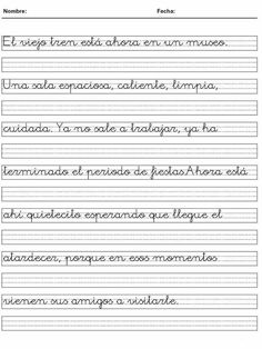 images_stories_recursos_infantiles_Fichas_66_caligrafia Cursive Handwriting Practice, Handwriting Analysis, First Day Of School Activities, Preschool Activities, Portuguese Lessons, Hand Lettering Art, Writing Worksheets, Lettering Tutorial, Spanish Language