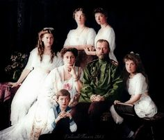 Imperial Family coloured by DelicateFlowers