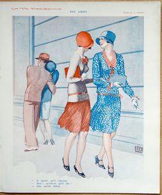 Georges Léonnec (1881 – 1940). La Vie Parisienne, 21 Septembre 1929. [Pinned 12-ix-2016]