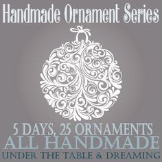Under The Table and Dreaming: Hot Glue Glittered Snowflake Ornaments featuring Bethany from Pitter & Glink {Handmade Ornament Homemade Ornaments, Christmas Ornaments To Make, Christmas Makes, Snowflake Ornaments, Homemade Christmas, Christmas Fun, Christmas Decorations, Penguin Ornaments, Globe Ornament