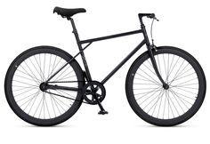 Fitnessbike, 28 Zoll, 1 Gang (Singlespeed), Freilauf oder Fixed Gear, schwarz, »Unit 581 Coaster Brake 1 S«, MBM. Mit dem Fixie UNIT 581 von MBM ist es kein Problem, immer flott unterwegs zu sein. Der gemuffte Rahmen, sowie die gemuffte Gabel verleihen diesem Fahrrad seine Leichtigkeit und seine Eleganz. Die farblich aufeinander abgestimmten Komponenten gehen über den Sattel, die Griffe, die Re...