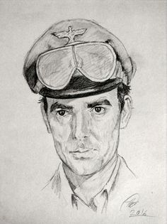 """Hans Gudegast as Captain Dietrich from the TV show """"The Rat Patrol."""""""