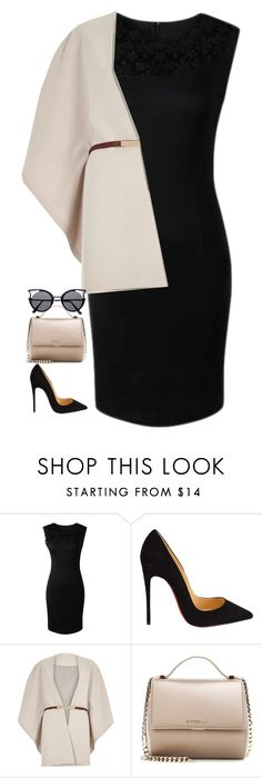 """Untitled #443"" by samson-90 on Polyvore featuring Christian Louboutin, River Island, Givenchy and NightOut"