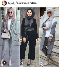Hijab Office, Office Attire, Outfit Look, My Outfit, Daily Outfit, Muslim Girls, Muslim Women, Hijab Fashion Inspiration, Hijab Chic
