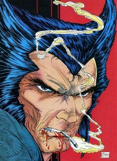 the Wolverine, Vol. 2 Back Cover PinUp Gallery From the top: Wolverine, Vol. 2 # 01 Back Cover by John Byrne. Wolverine, Vol. 2 # 02 Back Cover by Bill Sienkiewicz. Wolverine, Vol. Marvel Wolverine, Hq Marvel, Logan Wolverine, Marvel Comics Art, Marvel Comic Books, Marvel Heroes, Comic Books Art, Comic Book Artists, Captain America Comic