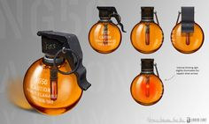 Napalm Grenade - posted in Approved Technology: Napalm Grenade  Image source: Brink https://m1.behance.n...ecadb0b7b90.jpg Intent: to create a napalm based grenade to be used and sold by the Red Ravens  Development Thread: NA Model: NA Affiliation: Red Ravens/Open Market  Manufacturer: Red Ravens, Stargo Defense Enterprises Modularity: yes. Conventional napalm burns for 10 to 15 seconds. Napalm B burns for 10 minutes  Production: Mass  Material: Durasteel, glass, napalm, lightbulb…