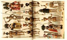 OCEANÍA Arms, Costumes, History, World, Illustration, War, Historical Costume, People, Floor
