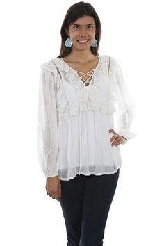 womens navy blue tassled beaded palm print Cotton Embroidered Gypsy Top blouse