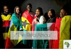"""""""Ithaca students say Africa is not a country."""" You guys voted! Here is a NEW blog post about a new photo campaign geared towards fighting African stereotypes! (I promise I'll post the """"successful blogger post next week!) Http://www.itsacurlsworld.com"""