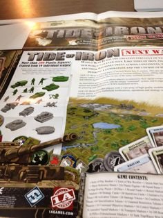 Tide of Iron Next Wave - Printer Proofs