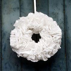 Paper wreath kit