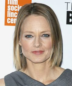 Jodie Foster bob hairstyle for women over 50
