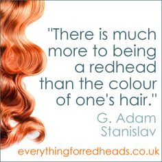 there-is-more-to-being-a-redhead-redhead-quote