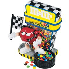 M'S® Racing Team Candy Dispenser