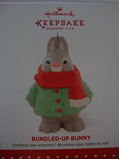 Hallmark Keepsake 2015 BundledUp Bunny ** Want to know more, click on the image.  This link participates in Amazon Service LLC Associates Program, a program designed to let participant earn advertising fees by advertising and linking to Amazon.com.