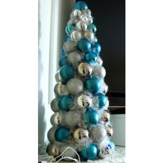 ornament tree - Duck Egg Blue Christmas Decorations