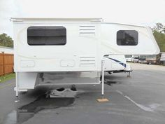 2016 Used Travel Lite 1000 SLRX Illusion Slide Out Truck Camper in North Carolina NC.Recreational Vehicle, rv,