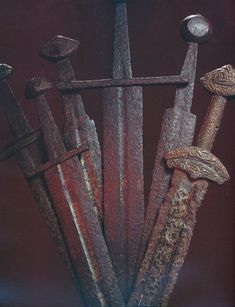 Swords from the Kyivan Rus times -- Ukraine Ancient weapons