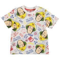 Boys Fireman Sam T Shirt