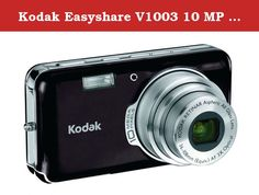 Kodak Easyshare V1003 10 MP Digital Camera with 3xOptical Zoom (Midnight Black). The V1003 is all about fun. Fresh colors. Dynamic ways to personalize. Capture the world your way with the V1003. Make your pictures as vivid as the moment you took them. Print better, brighter pictures using KODAK PERFECT TOUCH Technology. The V1003 is part of the KODAK EASYSHARE System; so sharing your pictures is amazingly simple. NOTE - THIS ITEM CANNOT BE SHIPPED TO MASSACHUSETTS.