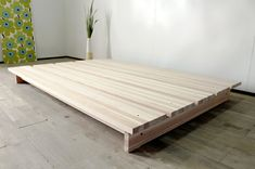 Platform Bed Designs, Bed Frame Design, Aesthetic Room Decor, Interior Design, Simple, Table, Bed Ideas, Diy Stuff, House
