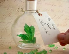 Faerie bottle  Absinthe The Green Fairy MADE TO by MagicalOddities, $35.00