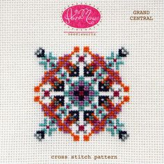 Opportunity awaits at the end of the line! This cross stitch pattern includes both a color coded chart and a symbol coded chart. The pattern also includes helpful getting started tips for cross stitch