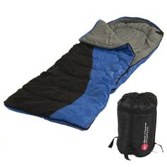 Single-Sleeping-Bag-Camping-Carrying-Case-Outdoor-Hunting-Hiking-W-Carrying-Case