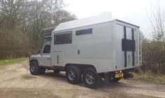 Land Rover Defender 170 Genuine 6x6 Camper Expedition Overland   eBay