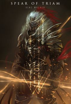 ArtStation - Spear of Triam, Denz Walker