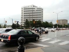 Smooth traffic at crossroads even after storms knocked out traffic signal electricity Storms, Knock Knock, Smooth, Random, Thunderstorms, The Storm