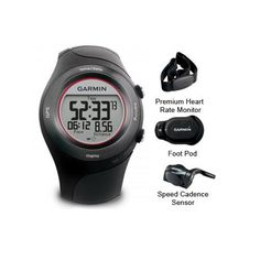 """(CLICK IMAGE TWICE FOR DETAILS AND PRICING) Garmin Forerunner 410 Watch with HRM and FP and SC-R Forerunner 410 Premiu. """"Garmin Forerunner 410, Runners _ Cyclists Pro Refurbished Includes One Year Warranty, The Garmin Forerunner 410w_ HRM, World Wide is the easiest way to track your training. There s .... See More Heart Rate Monitors at http://www.ourgreatshop.com/Heart-Rate-Monitors-C394.aspx"""