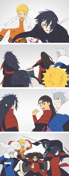 Naruto/Boruto - The OverPower Squad Naruto Vs Sasuke, Naruto Uzumaki Shippuden, Anime Naruto, Boruto, Comic Naruto, Wallpaper Naruto Shippuden, Naruto Cute, Madara Uchiha, Narusaku